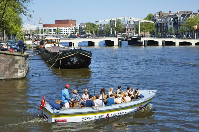 Open Boat on the Amstel