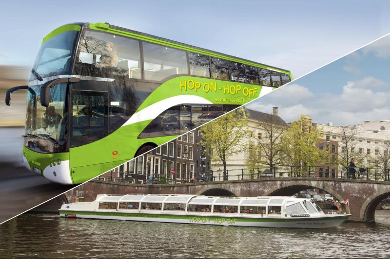 Hop On Hop Off Bus- and Boat