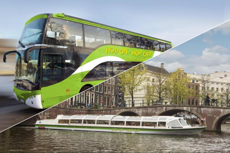 Hop on hop off bus & -boat