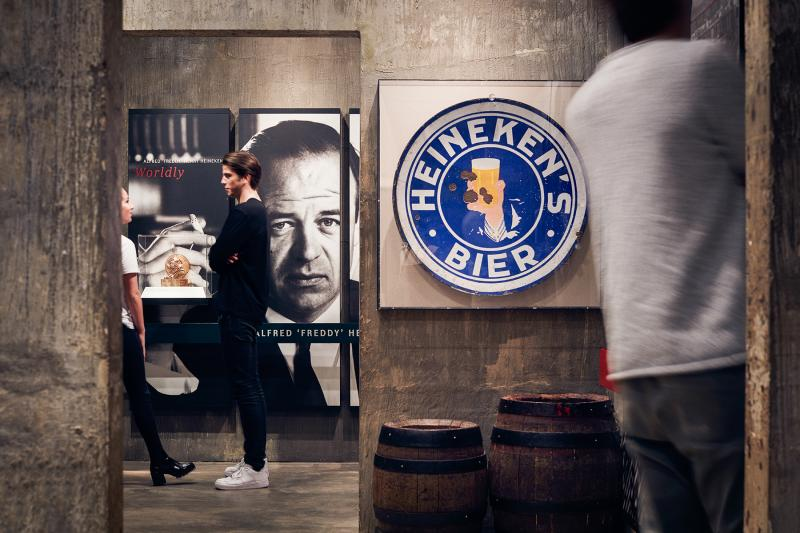 Tasters make the Heineken Brewery tour extra special!