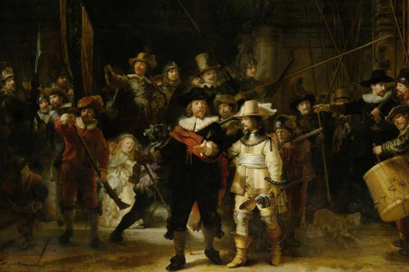 'The Night Watch' – Rembrandt Harmenz van Rijn, 1662