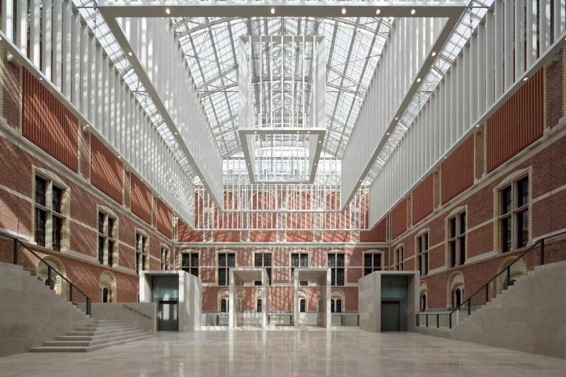 Over 8,000 pieces in the Rijksmuseum Amsterdam