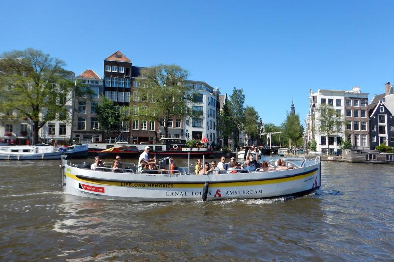 Hear your captain's tales of Amsterdam past and present