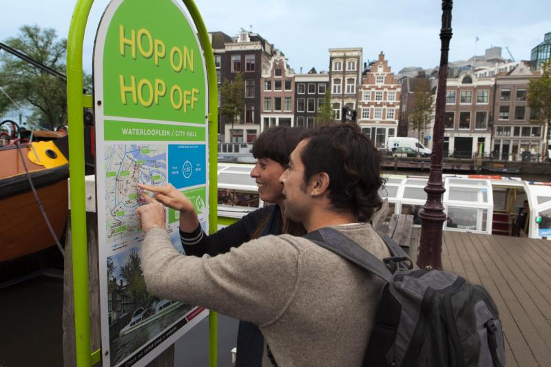 Amsterdam's best Hop On Hop Off Canal Cruise