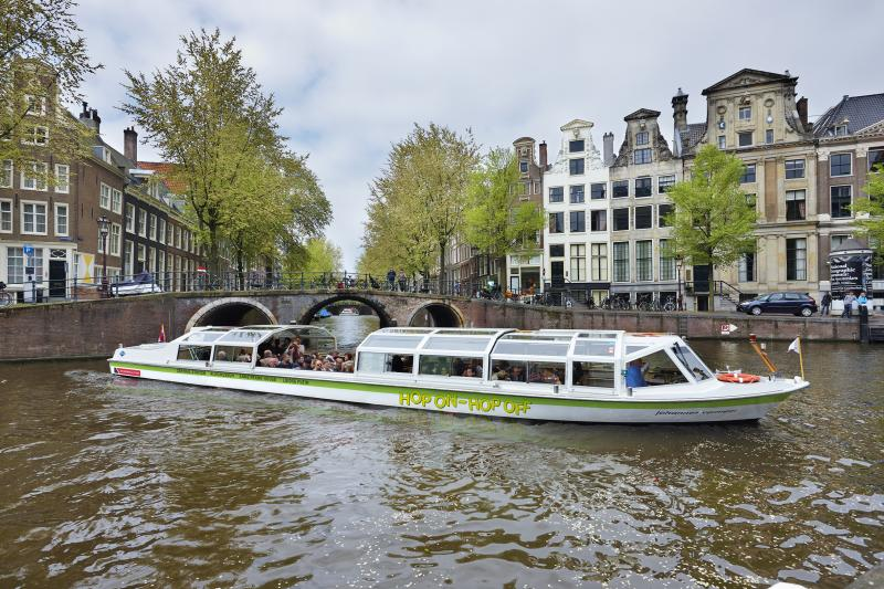 The beste way to go around in the beatiful city of Amsterdam