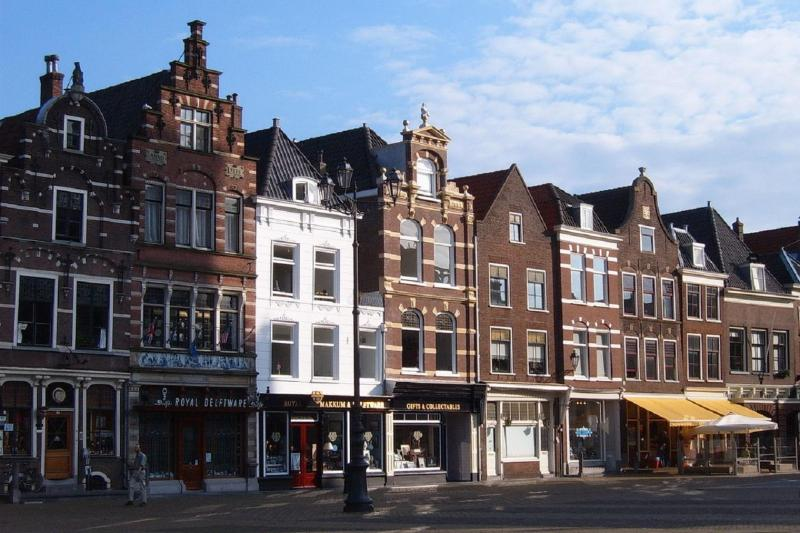 Houses in Delft