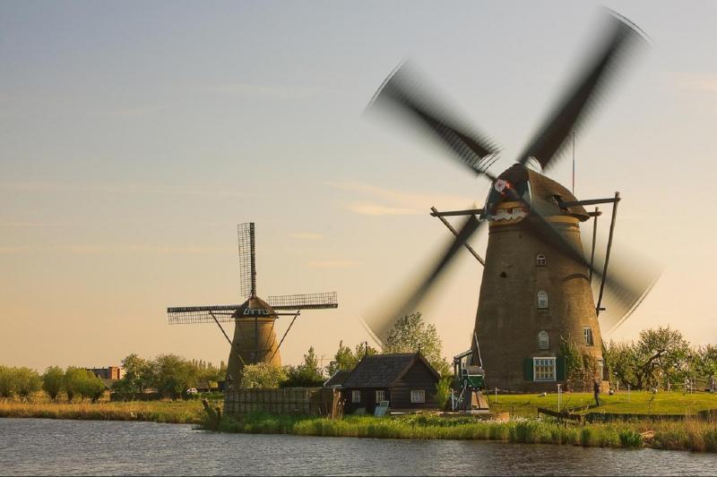 Wind mills Kinderdijk