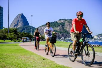 Bike Tour - Sugar Loaf, Downtown and Olympic Boulevard