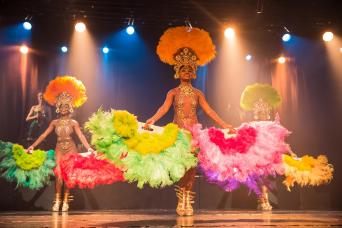 Ginga Tropical Carnaval Show with Optional Barbecue Dinner