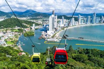 Day tour to Unipraias Park and Cable Cars