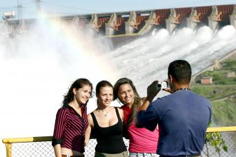 Itaipu Dam Panoramic Tour with optional Kattamaran tour