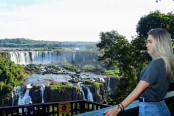 Iguassu Falls - Brazil side with Macuco, Helicopter Flight and Bird Park
