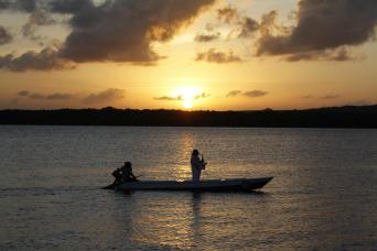 Sunset on Jacare Beach - Group Tour Spanish and Portuguese