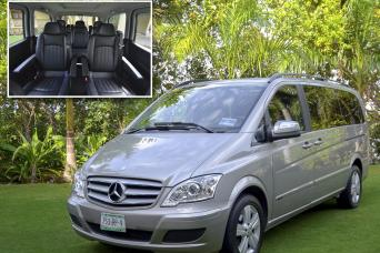 Concierge Service Airport Meet, Greet & Escort® One Way Van Transfer - Merida Airport (MID)