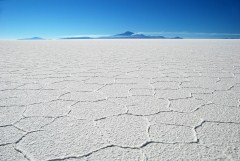 Salt lake, Bolivia