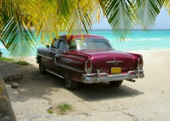 Antique Car Cuba