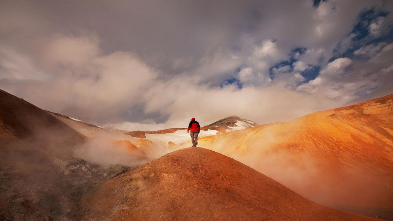 Iceland's Laugavegur Trail Small Group Guided Walking Tour