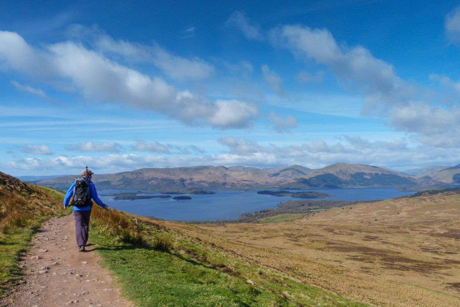 Self-guided walking holiday on the West Highland Way - Highlights