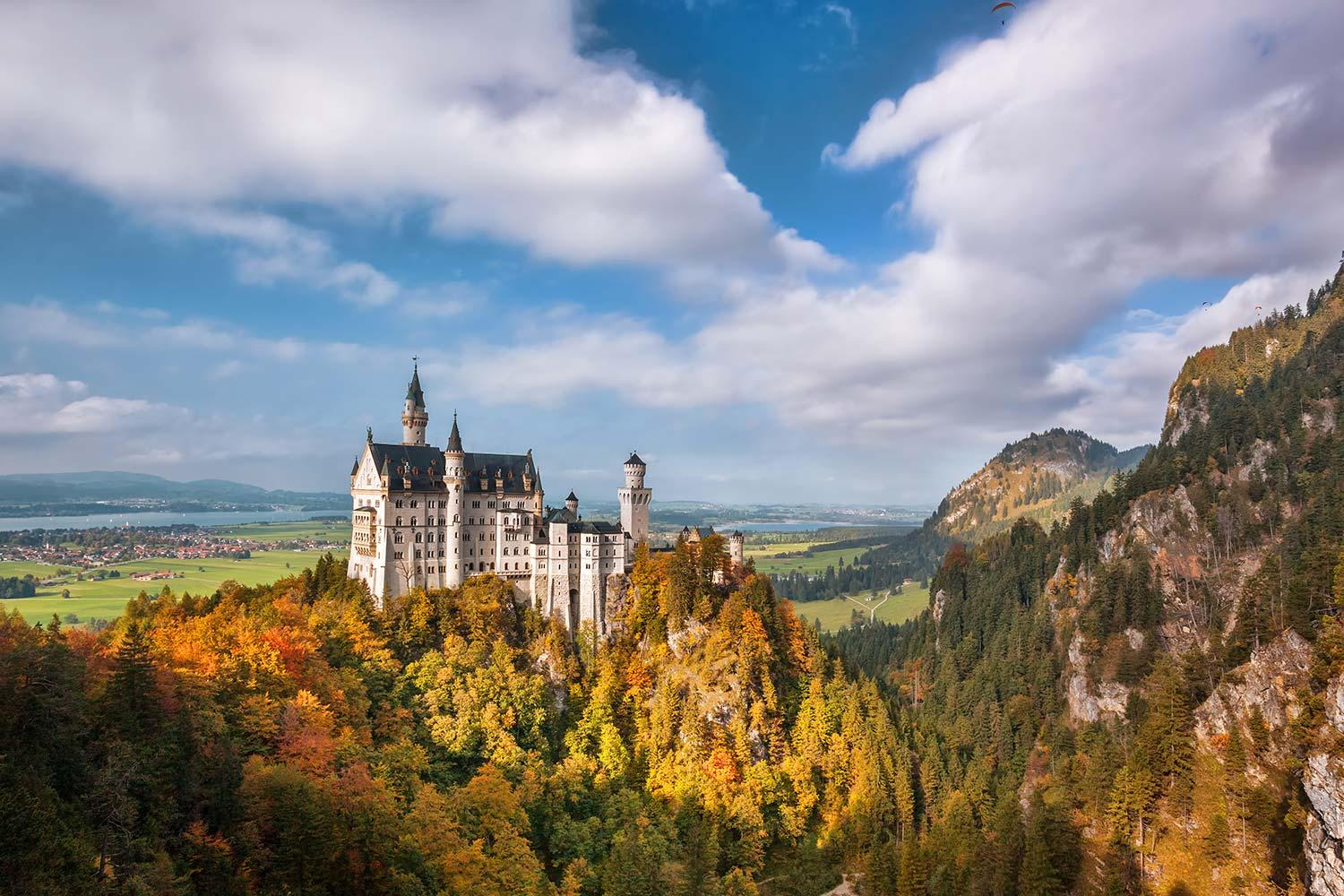 The King Ludwig Way self-guided walking tour (shown: Neuschwanstein Castle)