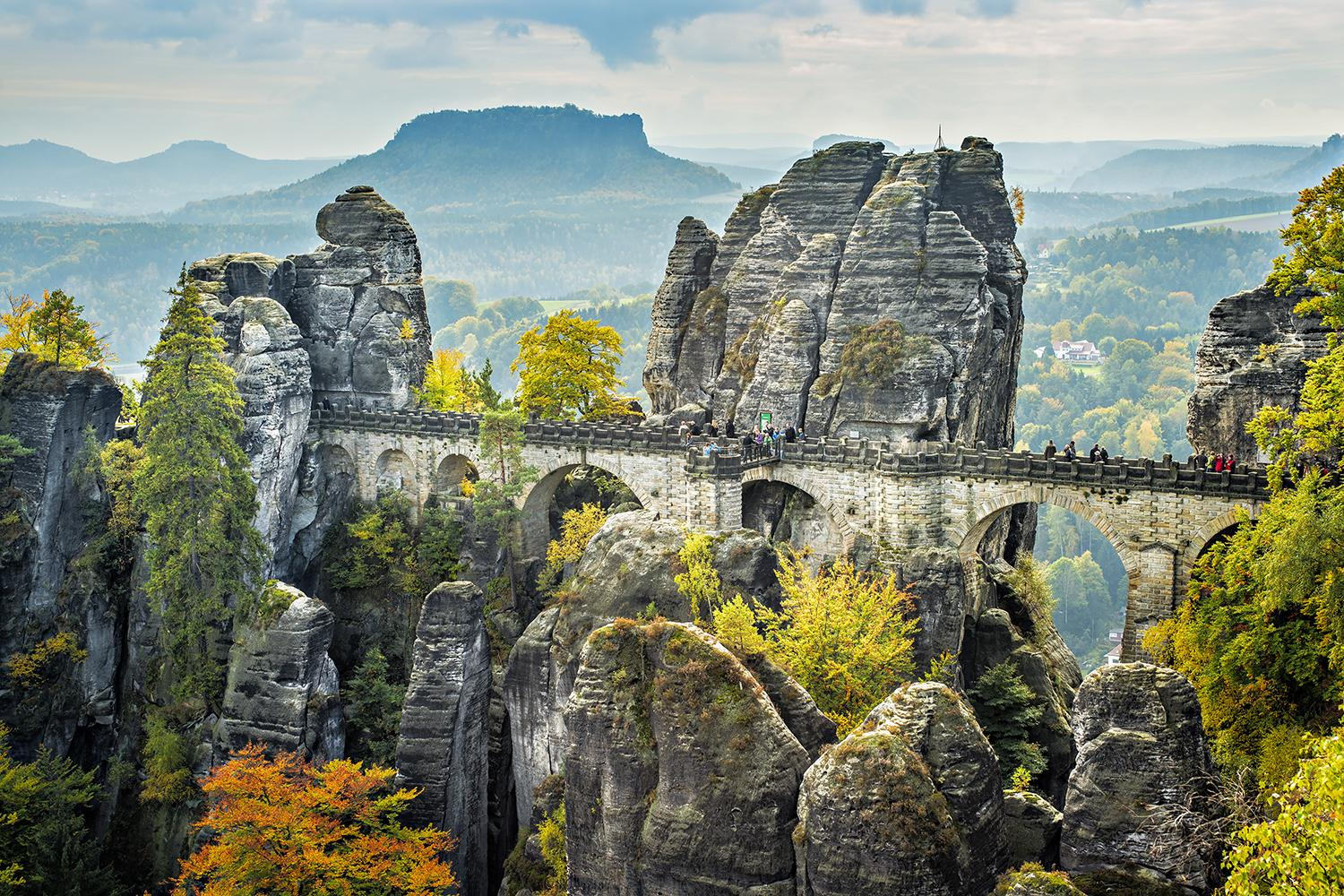 Self guided walking vacation in Saxon Switzerland