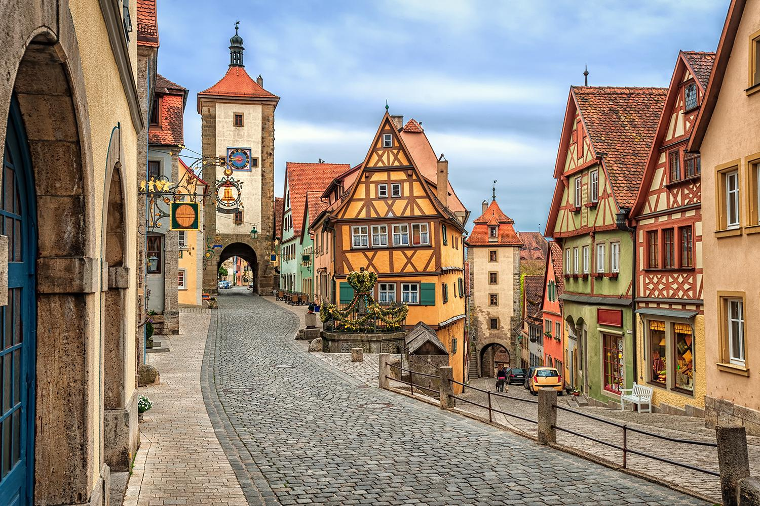 Germany's Romantic Road - self guided walking vacation