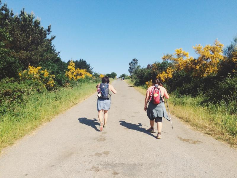 Finding your own pace on the Camino