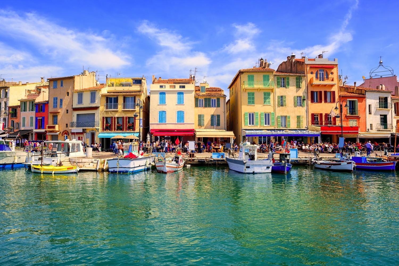 The Colourful Port de Cassis