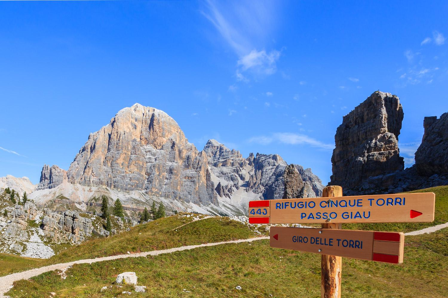 Self-guided trek along the Alta Via 1 in the Dolomites