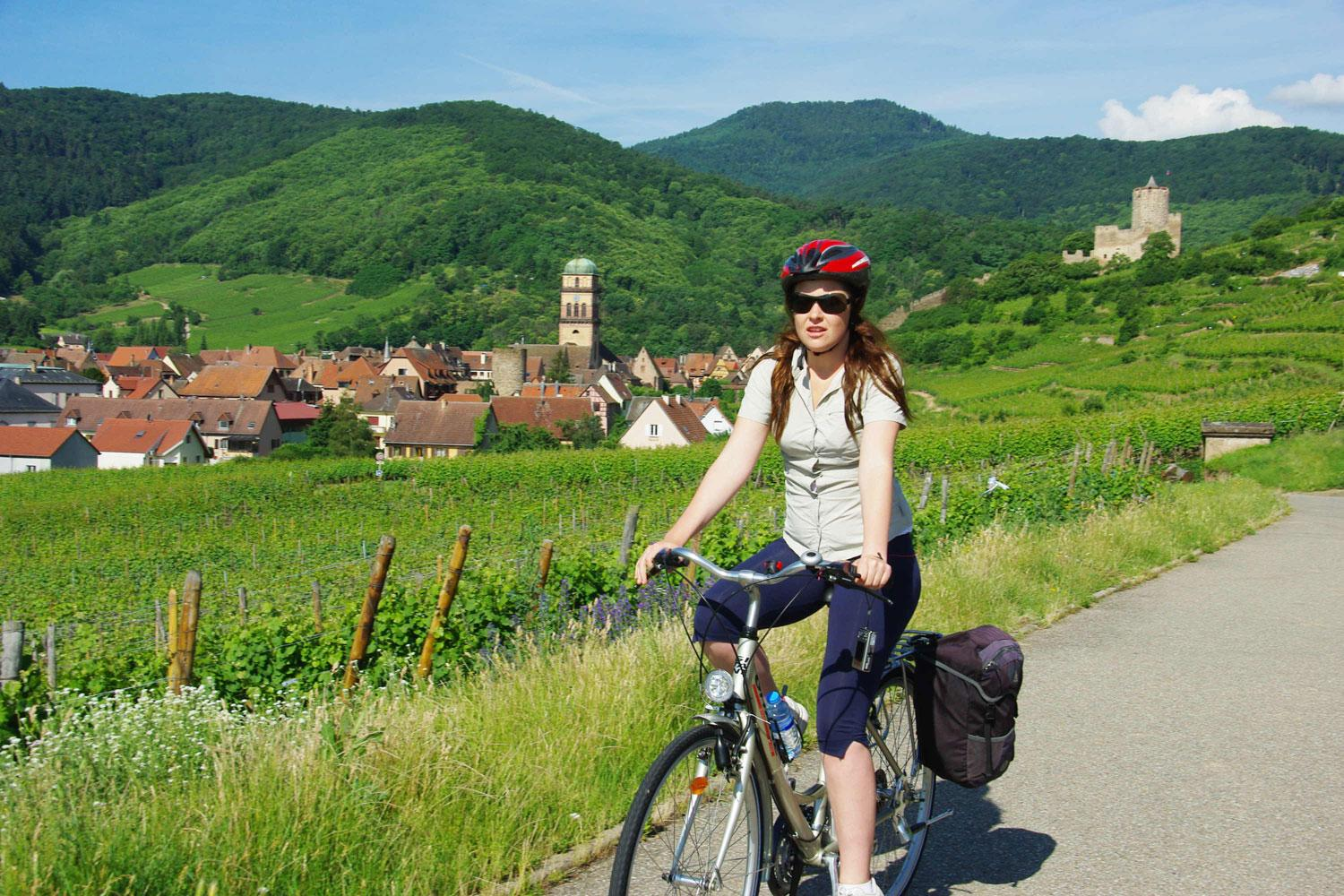 Cycling through the Heart of Alsace