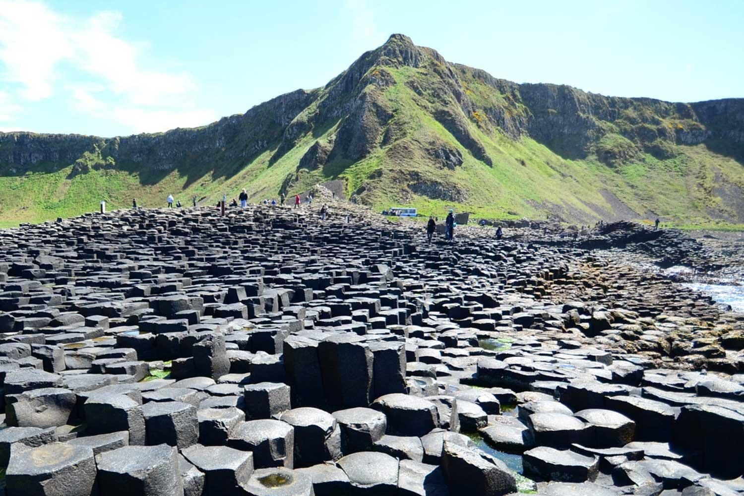 Self-guided drive & hike tour around Ireland - the Giant's Causeway