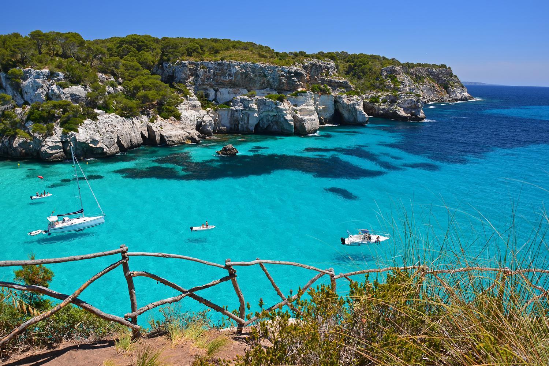 Macarella Bay, an impression of Menorca's stunning coastline