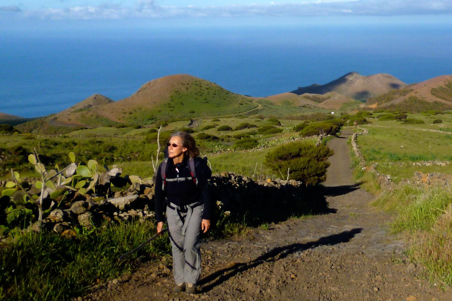 Explore the volcanic landscape of El Hierro on an independent walking tour
