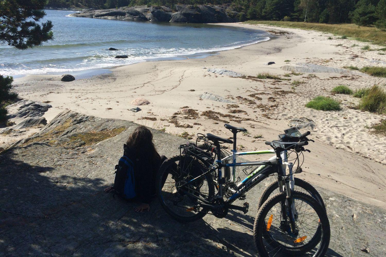 Cycling Stockholm's Archipelago