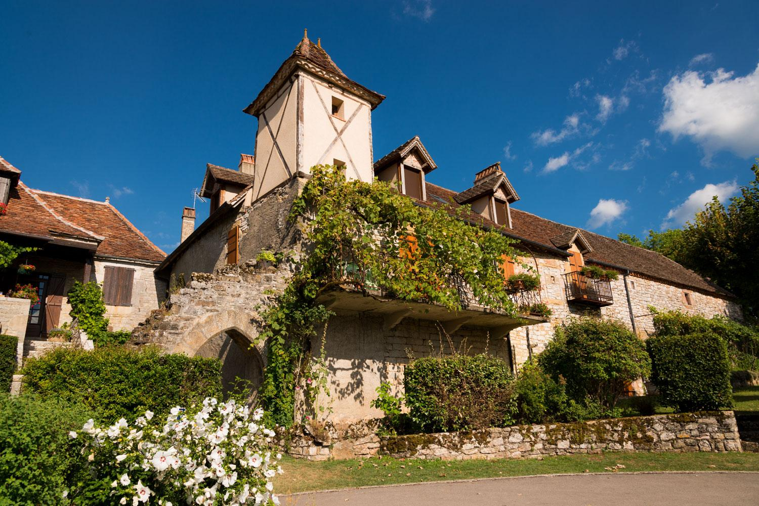 One of many pretty villages in the Perigord Noir