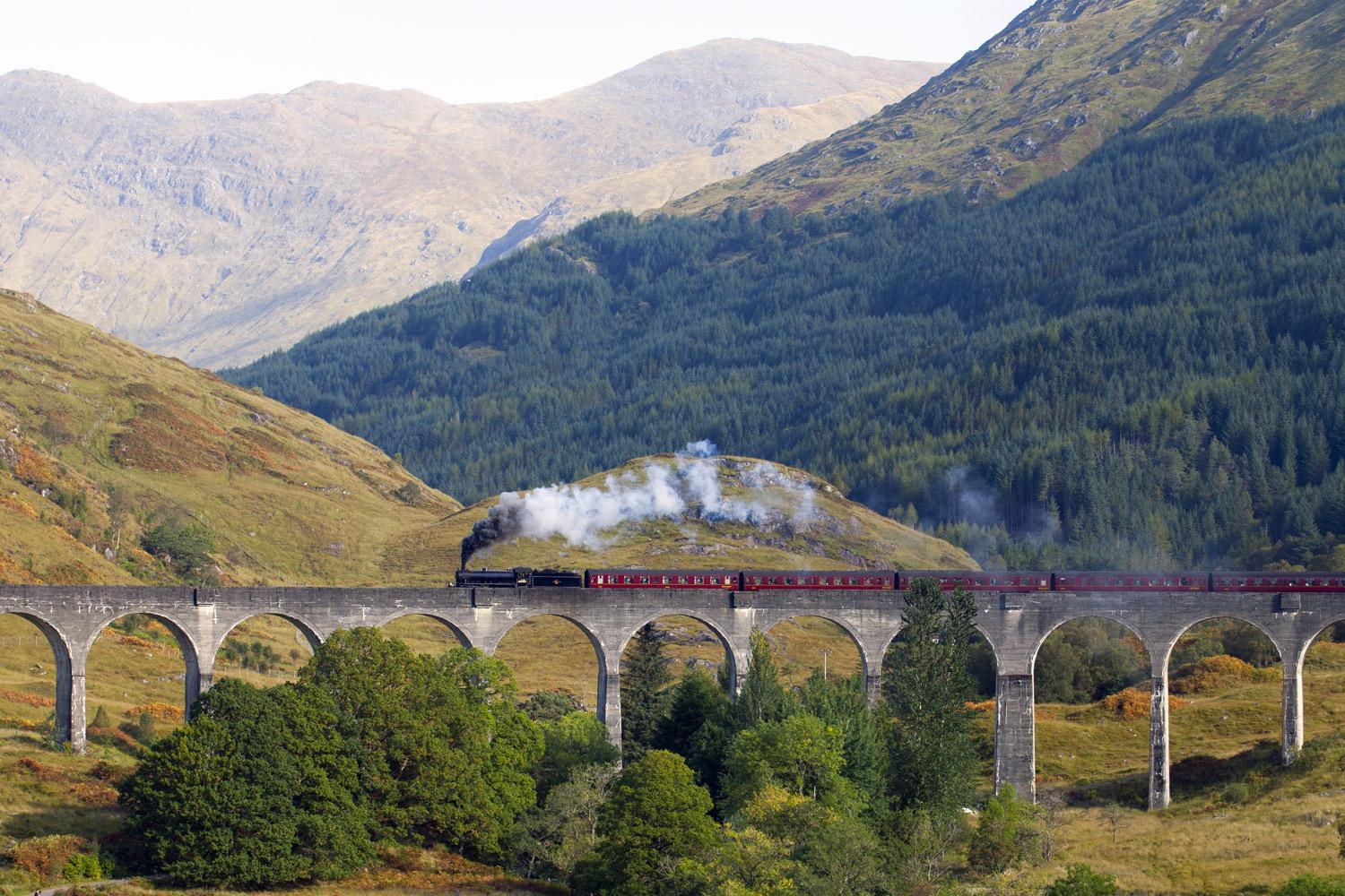 Jacobite Steam Train, independent rail & hike tour of The Highlands & Isle of Skye