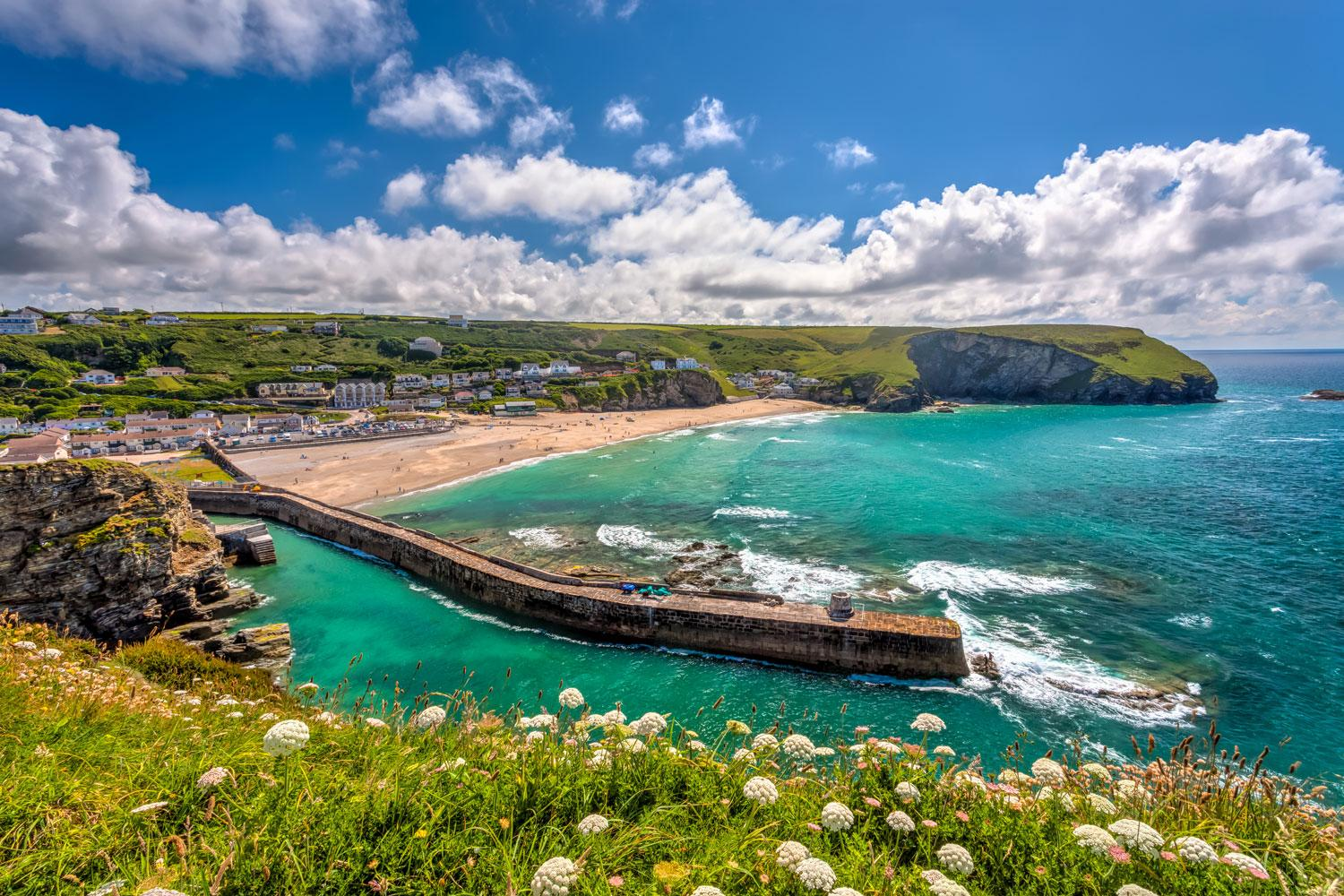 Beautiful coves of Cornwall