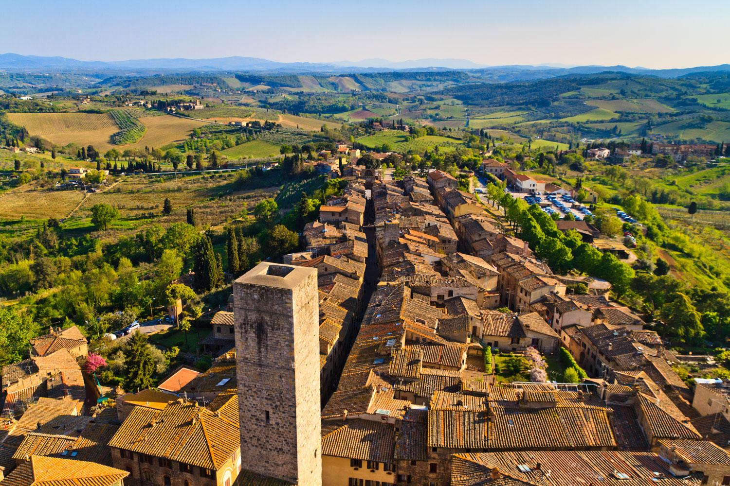 Self-guided walking holiday in Tuscany