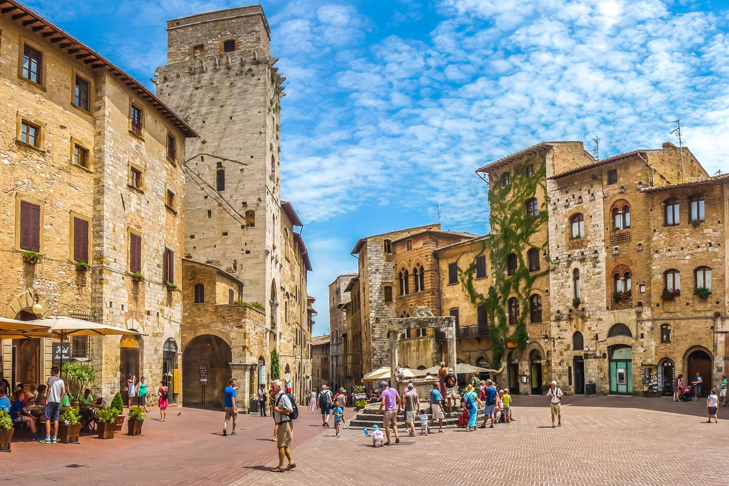 Classic Tuscany Short Break self-guided walking holiday