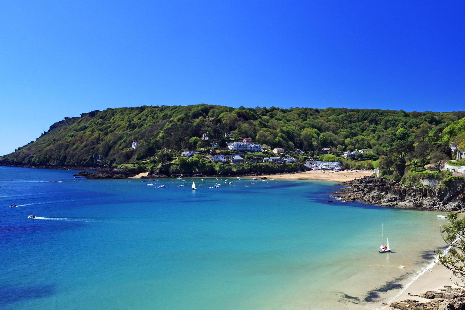 Salcombe bay, part of the