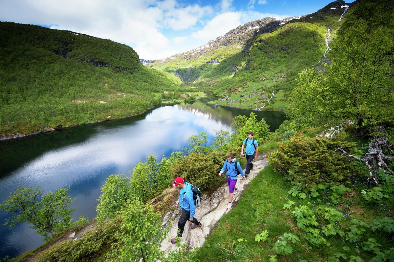 Walking in the Sognefjord Self-Guided Walking Holiday,© Flåm Utvikling as , Credit Kyrre Wang - Blue