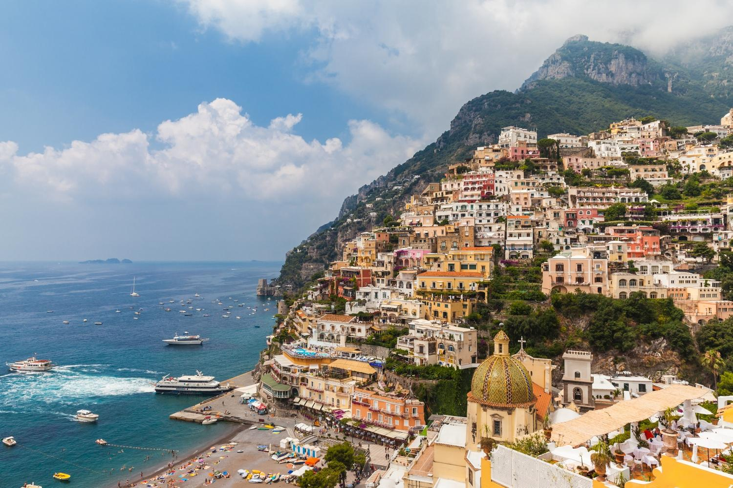 Positano, the Pink Town of Italy