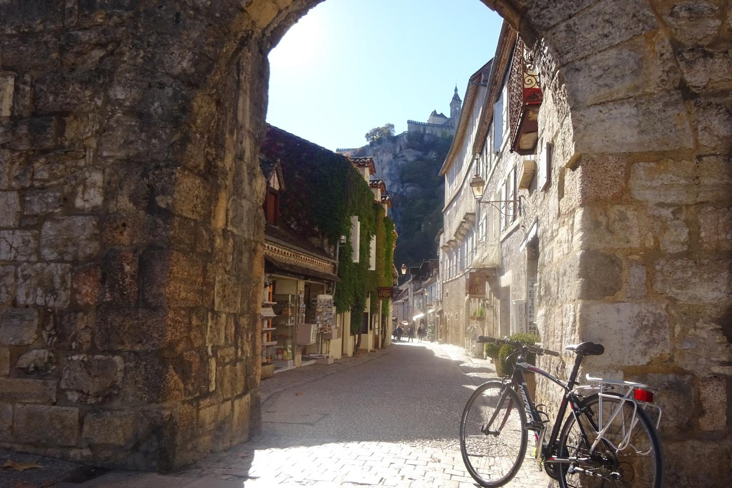 Gateway arch to Rocamadour