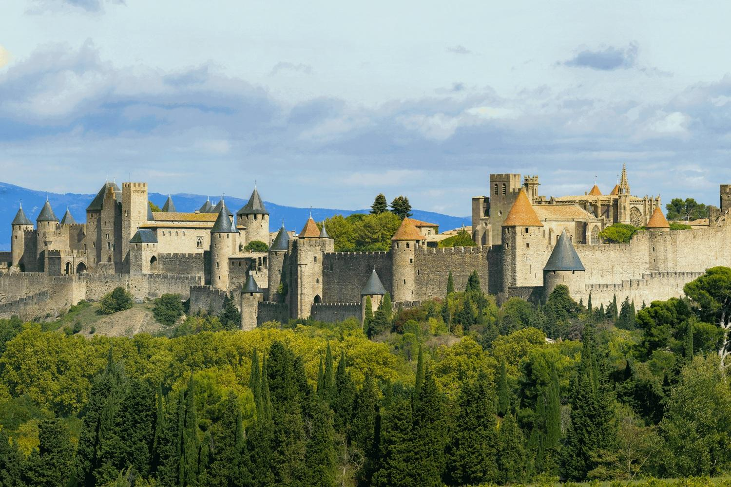 Carcassonne old town