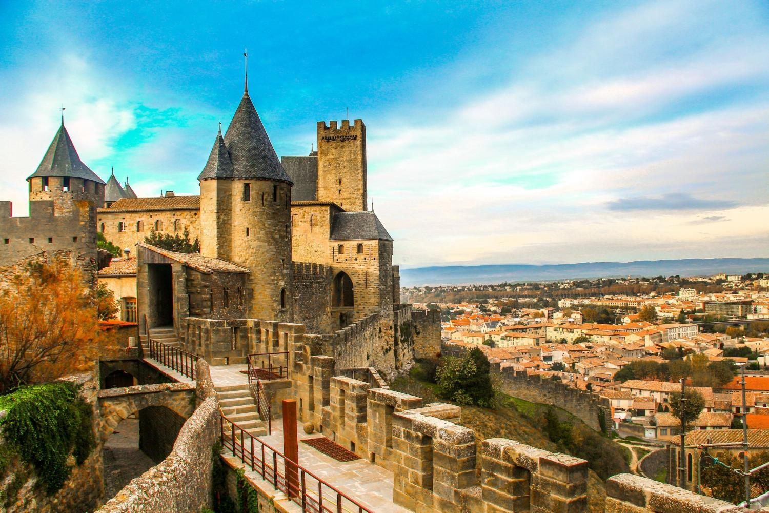 The UNESCO 'Old Cite' of Carcassonne