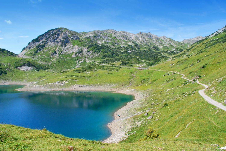 Walk the 'Lechweg' from Austria into Bavaria