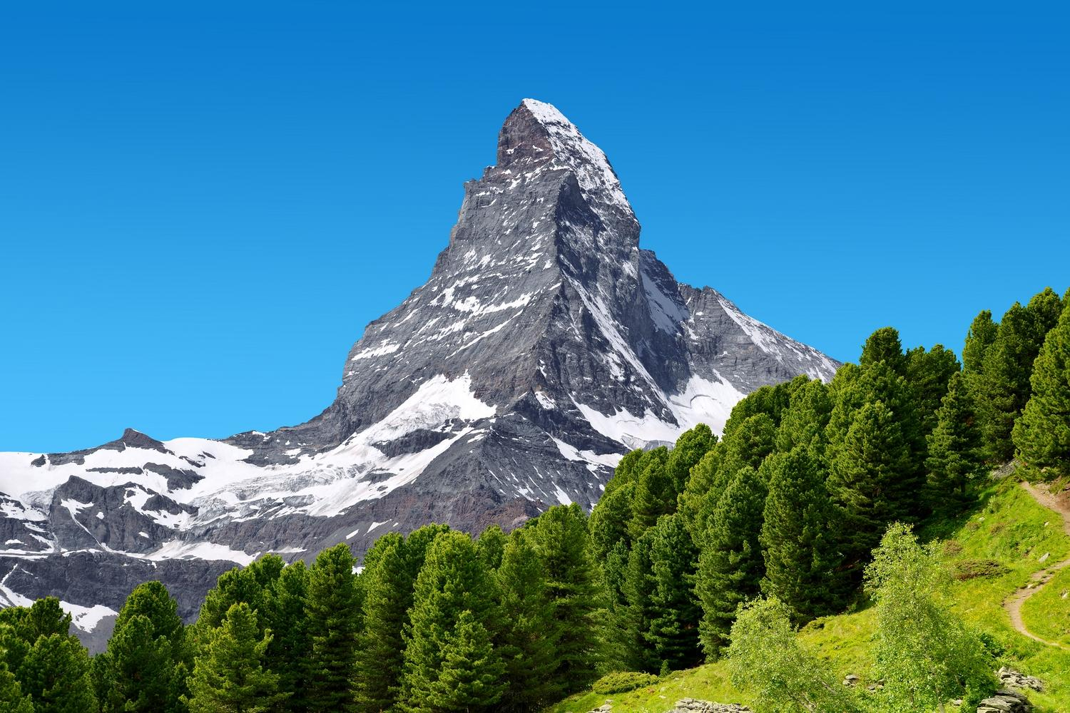 Self-guided walking holiday on the north section of the Tour of the Matterhorn