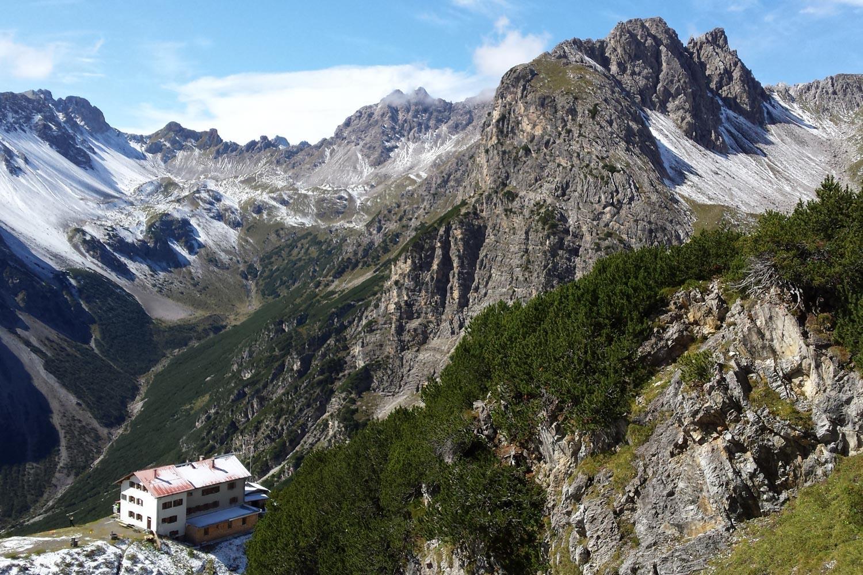 The E5 Alpine Crossing