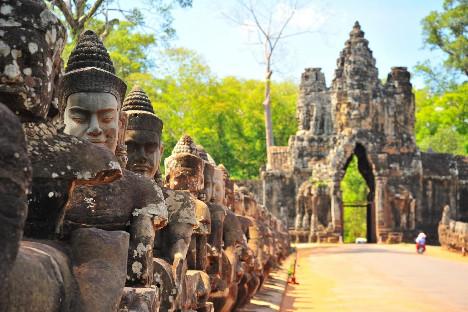 Thailand to Cambodia: Cycle the Slow Road to Angkor Wat