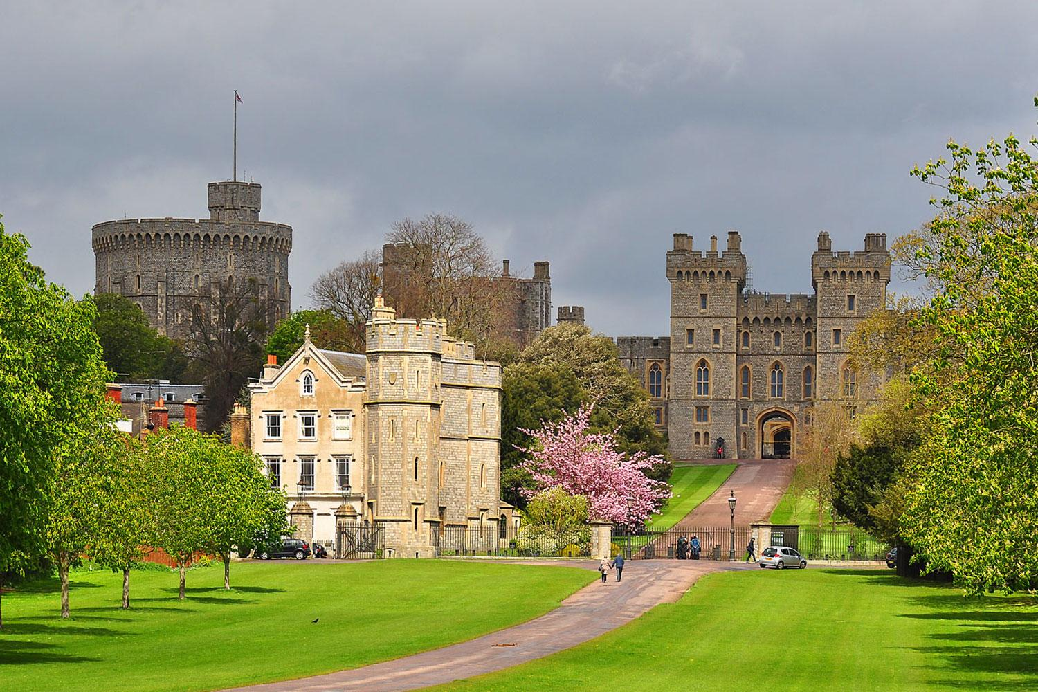 Windsor Castle in all its glory