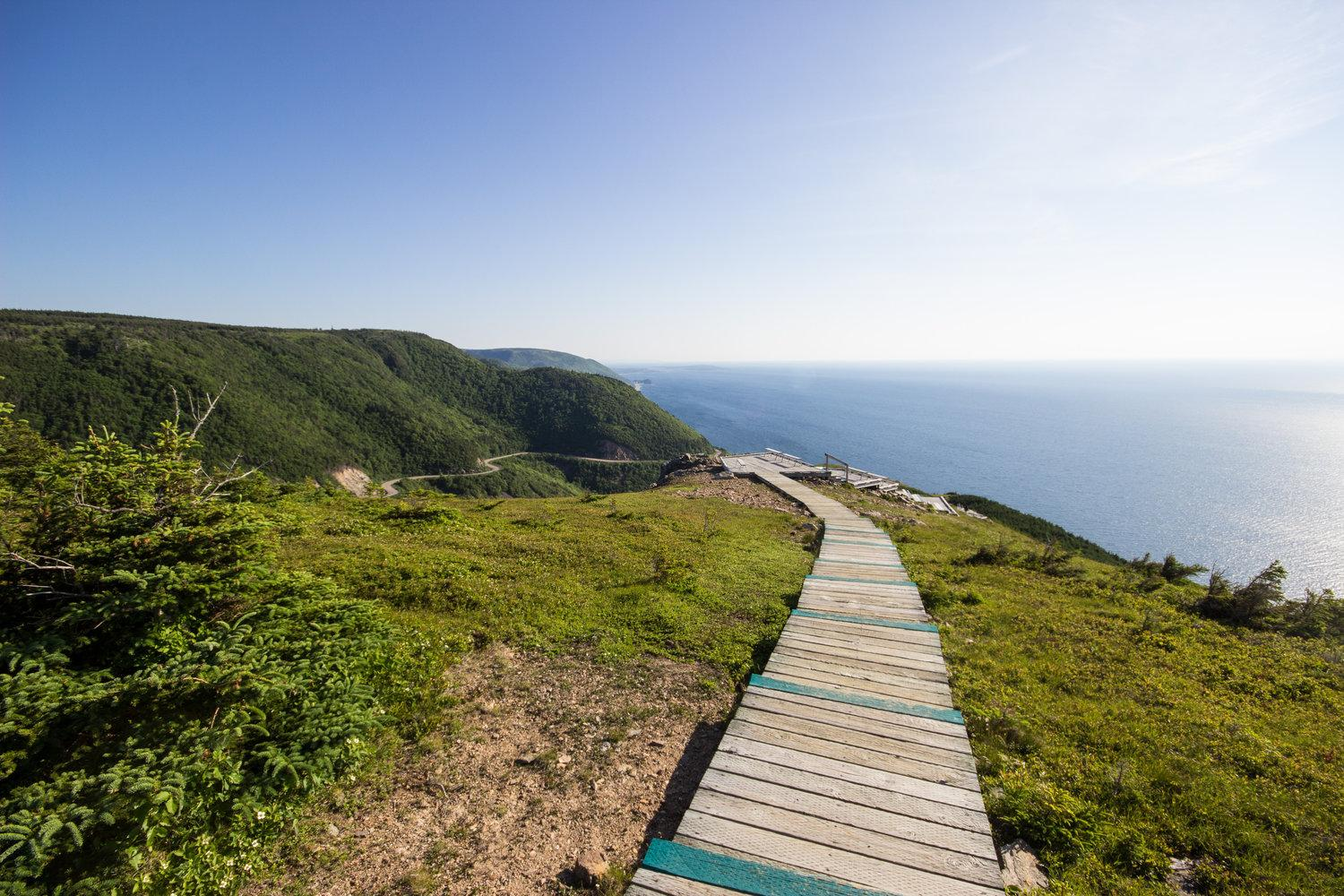 Hike the wild coastline and explore quaint Acadian villages of Nova Scotia's Cape Breton